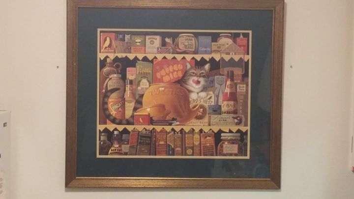 Ethel the Gourmet - Charles Wysocki