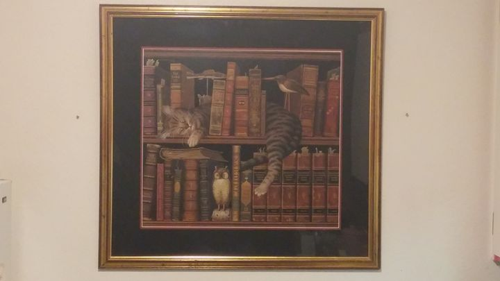 Fred the Literate - Charles Wysocki