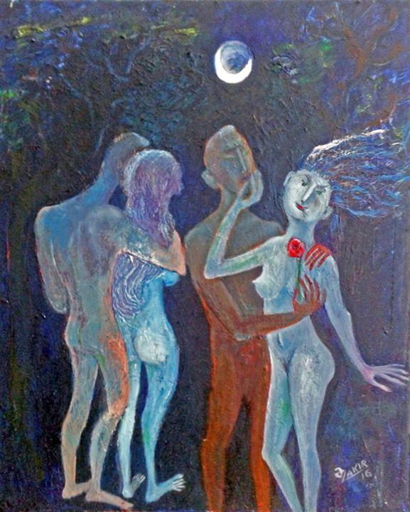 Moonlight Night - ZAKIR ART