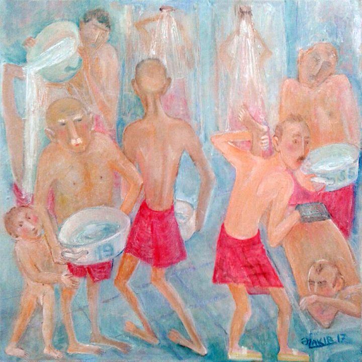 Turkish bath - ZAKIR ART