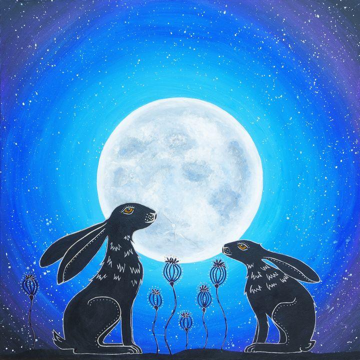 Moonlight Mischief - Mystic Hare