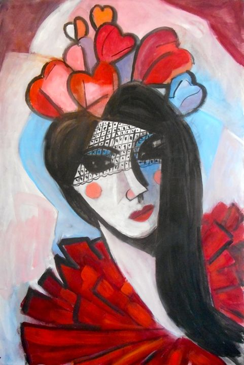 Picasso'd Valentine - Ang's Art