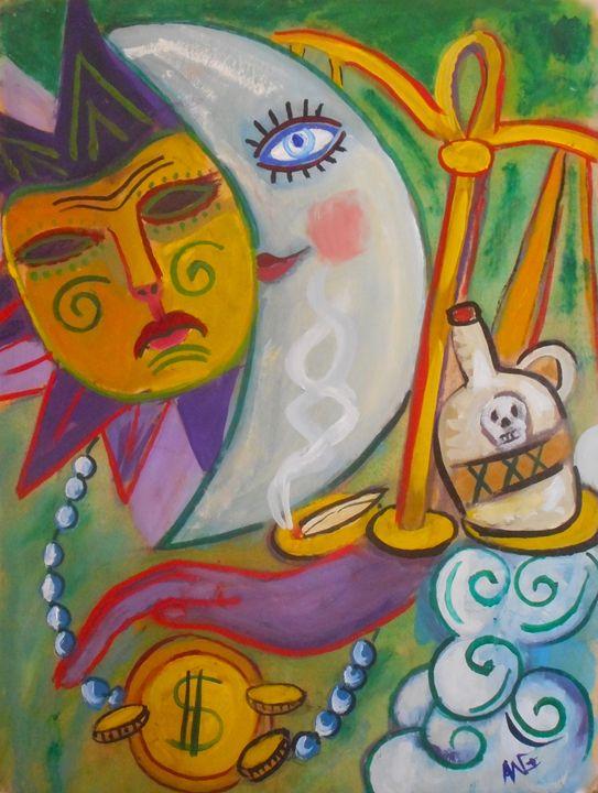 Mardi Gras - Ang's Art