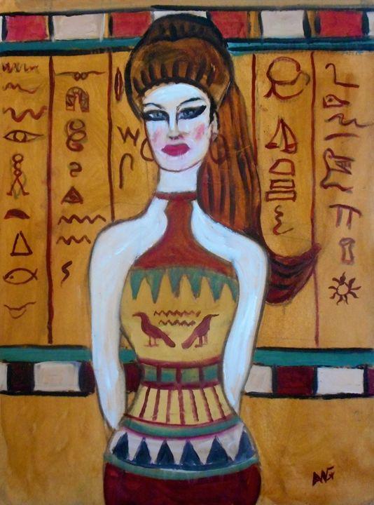 Egyptian Princess - Ang's Art