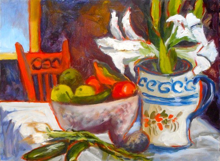 Mexican Still life 3 - Ang's Art