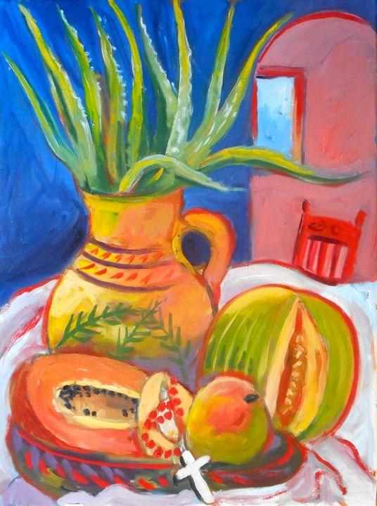 Mexican Still Life 1 - Ang's Art