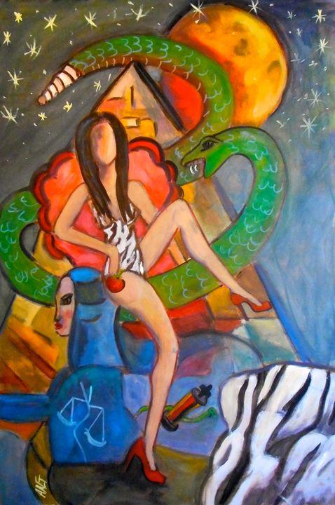 Takin it easy - Ang's Art