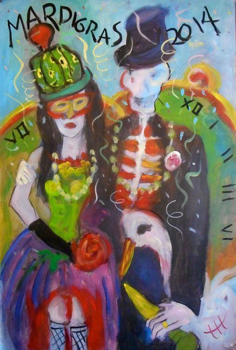 Mardi Gras 2014 - Ang's Art