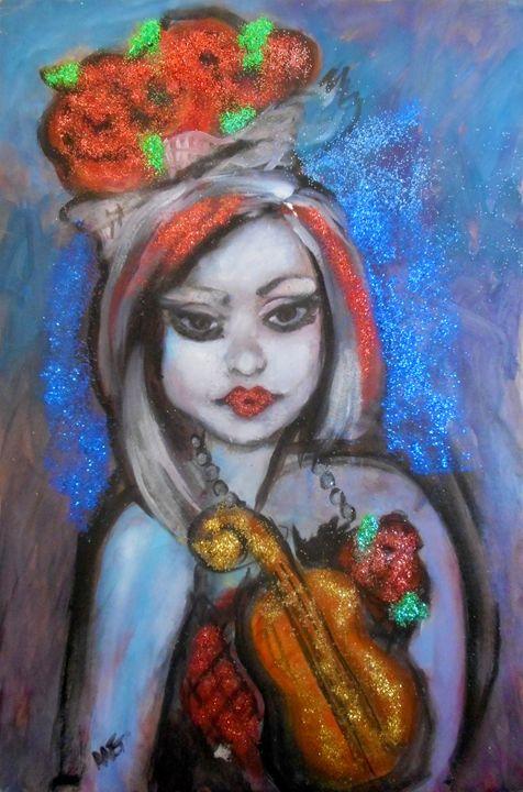 Christmas Doll - Ang's Art