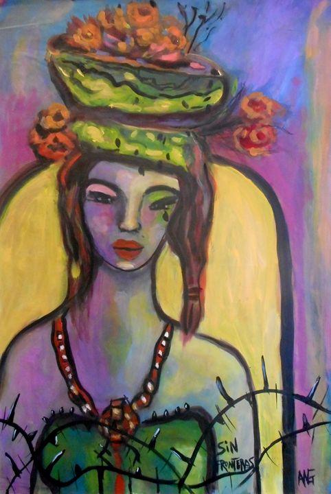 Sin Fronteras - Ang's Art