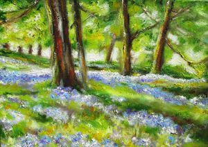 irish meadow painting