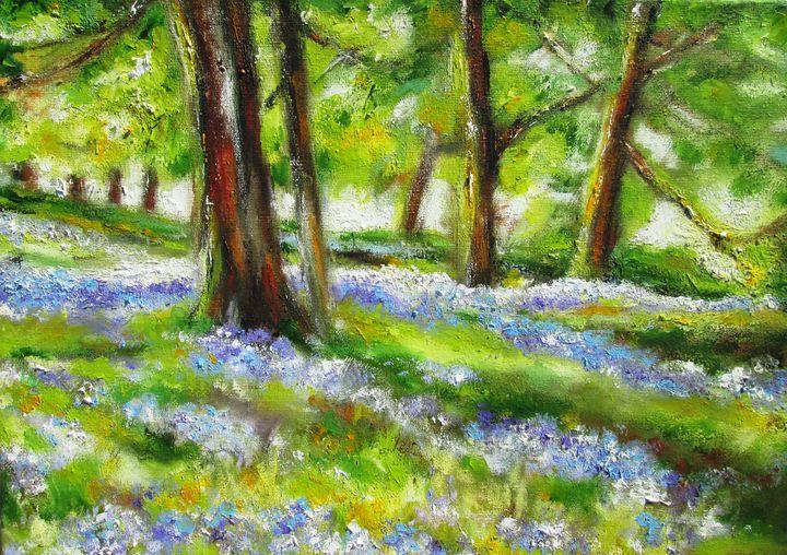 irish meadow painting - www.pixi-art.com