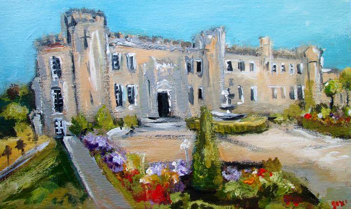 irish castle - www.pixi-art.com