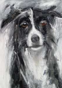dog painting -dog portraits