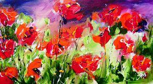 painting  of poppys - www.pixi-art.com