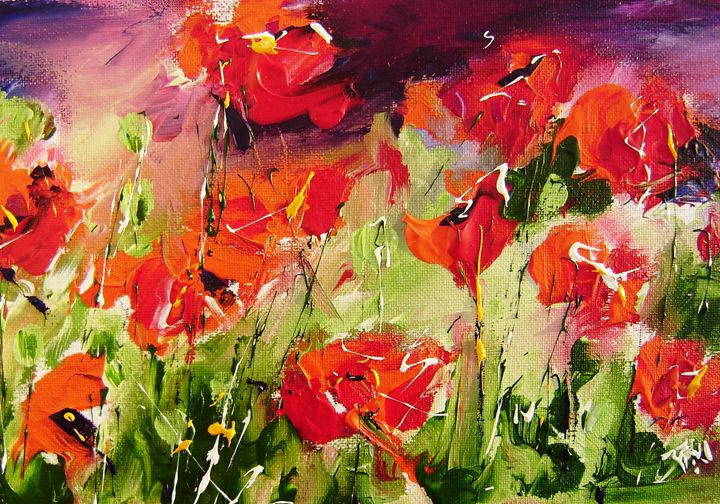 ABSTRACT FLORAL - www.pixi-art.com