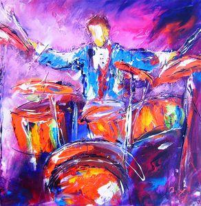 rock music drummer - www.pixi-art.com