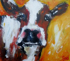 mr moo irish cow say hello