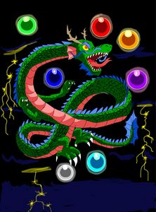 Black Cloud Dragon