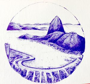 Rio de Janeiro - Ballpoint pen