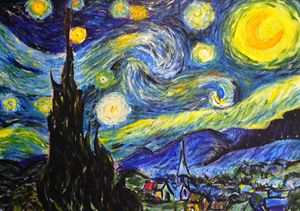 Vincent Van Goh's Starry Night