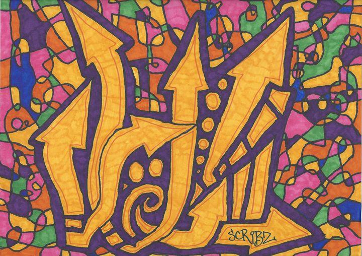 Slow Down Don't Stop - Scribz Pop Art