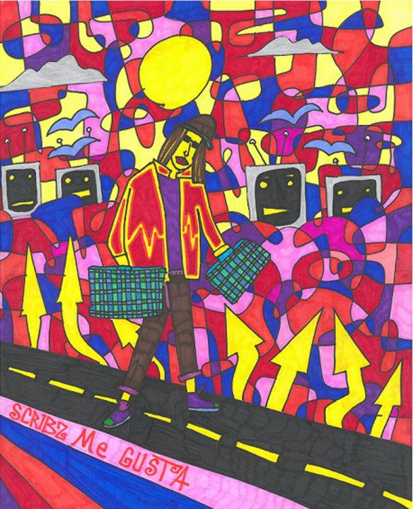 SCRIBZ ME GUSTA - Scribz Pop Art