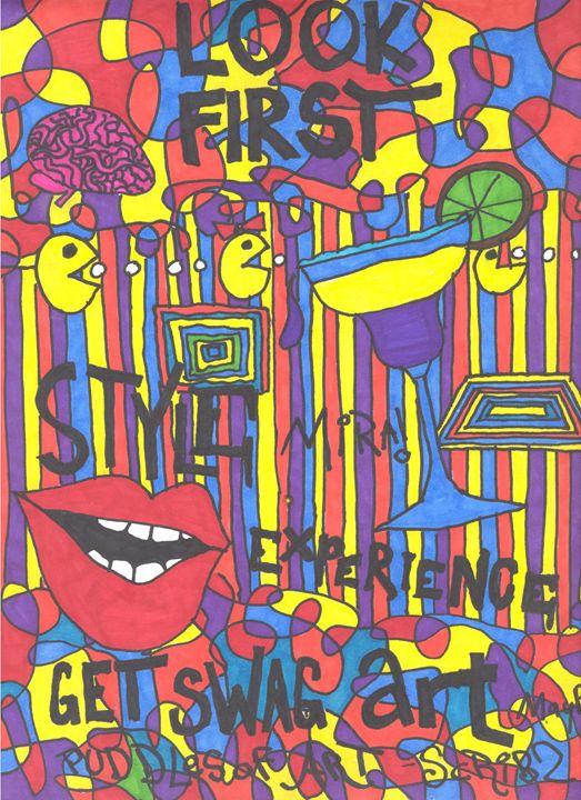 Git PuDDLEZ of SWAG ART - Scribz Pop Art