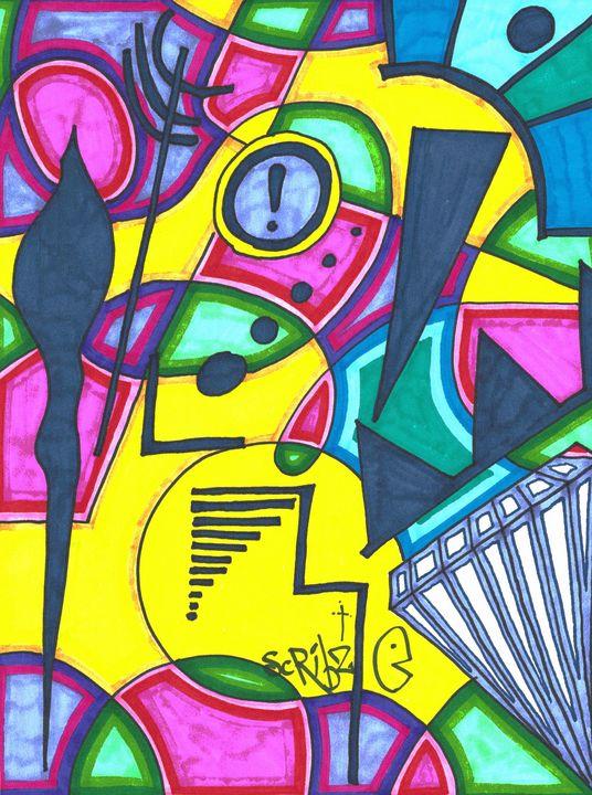 Maynmar Justice - Scribz Pop Art