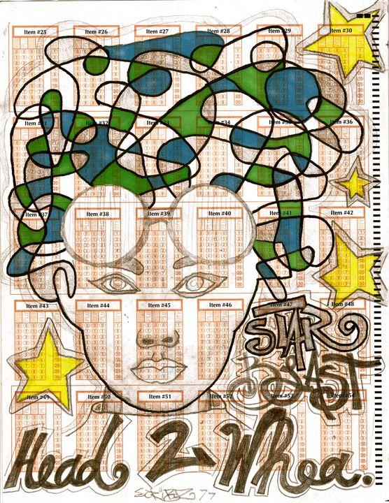 STARBLAST - Scribz Pop Art