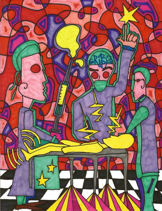 DOCTORS - Scribz Pop Art