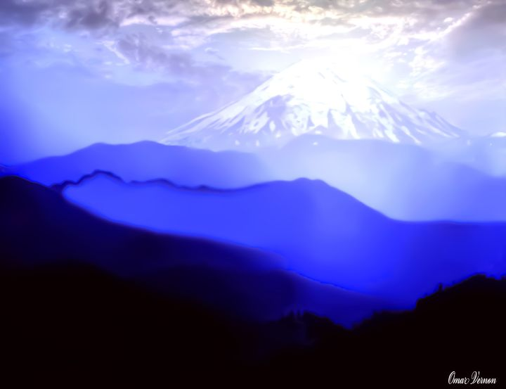 Vintage Mount St. Helens - Eddie Eastwood