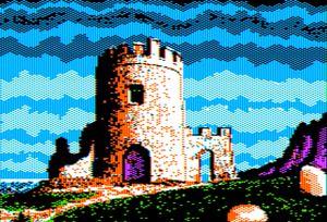 Lost Kingdom Apple II HGR