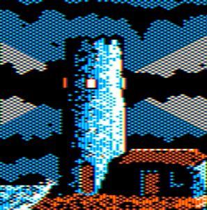 Ancient Lighthouse Apple II HGR