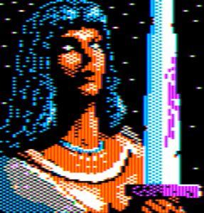 Warrior Goddess Apple II HGR