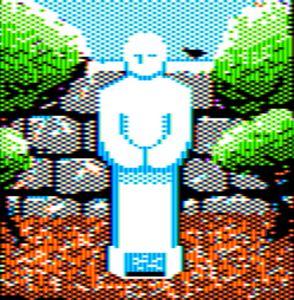 Ancient Figurine Apple II HGR