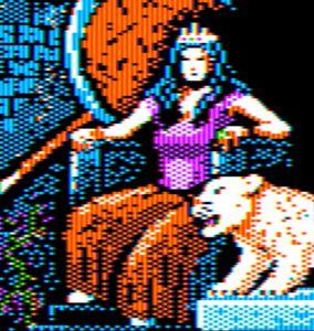 Arcane Queen Apple II HGR