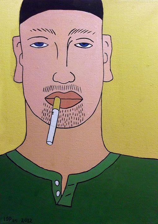 Portrait of a Smoker - iopan