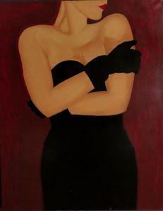lady in black - Riley+Mallette Fine Art