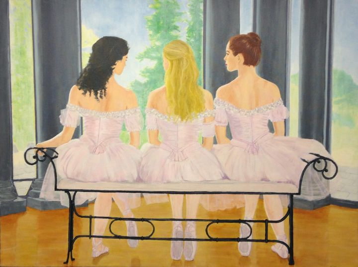 Ballerinas - Riley+Mallette Fine Art
