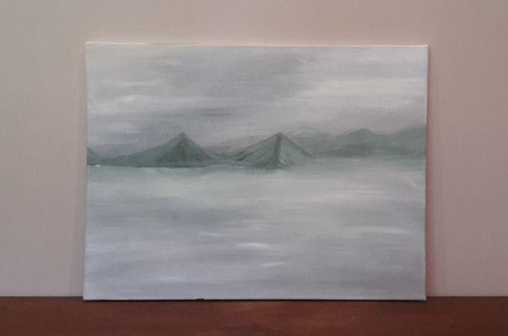 Snowy Mountain - Justin's Art Shop