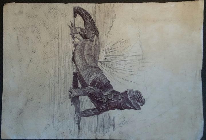 Lizard - bongz