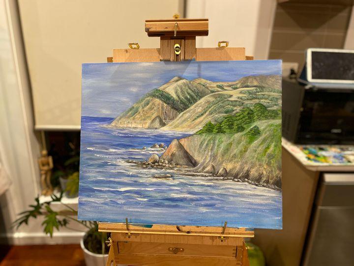 Coastal landscape - Natasha Avy