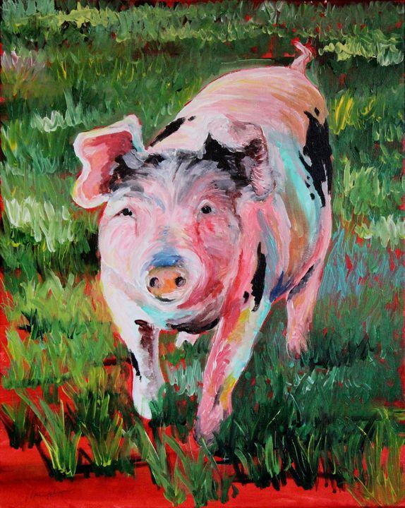 Colorful Pig - Maria Popescu