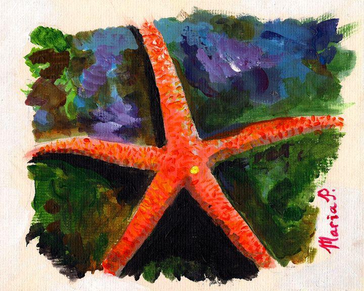 Colorful Starfish - Maria Popescu