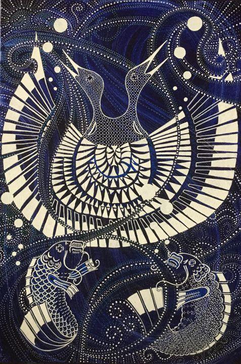 Pêche - Catherine Giusti