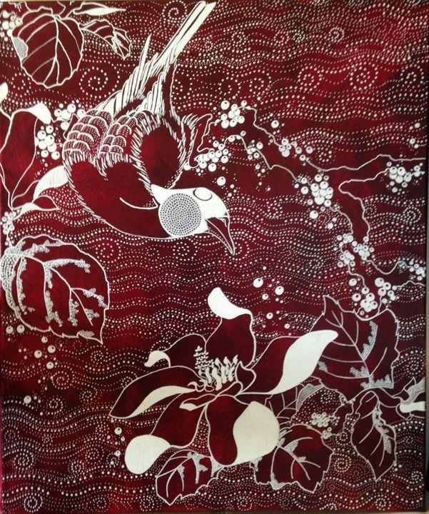 L'oiseau au magnolia - Catherine Giusti