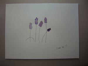 Purple Flowers - Micah
