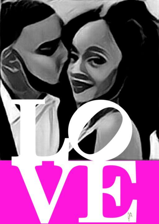 Love U4 life (pink) - Hammonds Artistic Creations