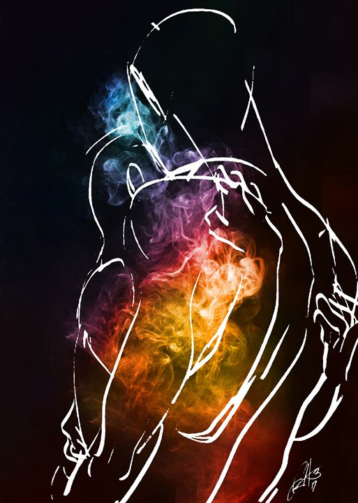 Connection of love - Hammonds Artistic Creations